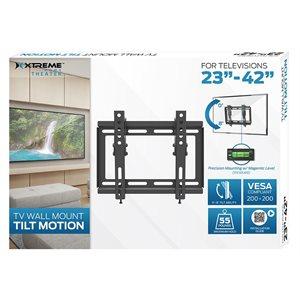 "XTREME 23""-42"" Wall mount Tilt Motion"