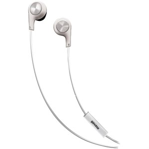 MAXELL B-13 Bass 13 Heavy Bass Earbuds with Mic White