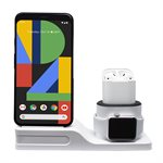 Aduro Tech Theory - QI CERTIFIED Charging Stand,supports all series Apple watch,iPhones & Air pod