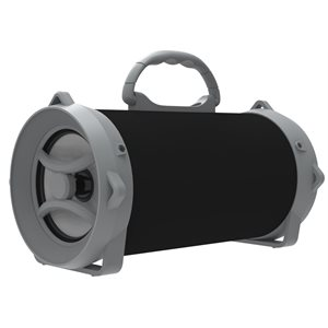 Aduro FLUX WIRELESS SPEAKER HD CLEAR SOUND BLACK AND GREY