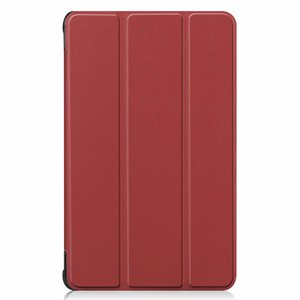 """Bookcover for Samsung SM-T500 / A7 10"""" 2020 - Red Wine"""