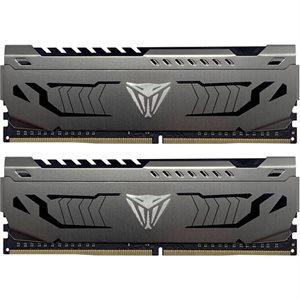 Patriot V4S 16GB DDR4 (2x8GB) 3200MHz CL16 Viper 4 Steel HS DUAL KIT C16