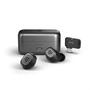 EPOS - Sennheiser GTW 270 Hybrid Closed Acoustic Wireless Earbuds with Dongle