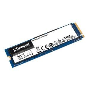 Disque SSD KINGSTON 500G NV1 M.2 2280 NVMe SR:2100MB/s SW:1700MB/s - Gar. 3 ans