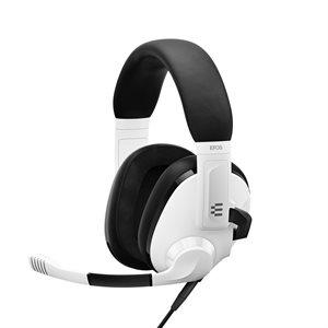 EPOS - Sennheiser H3 Closed Acoustic Gaming Headset - Multi Platform  White