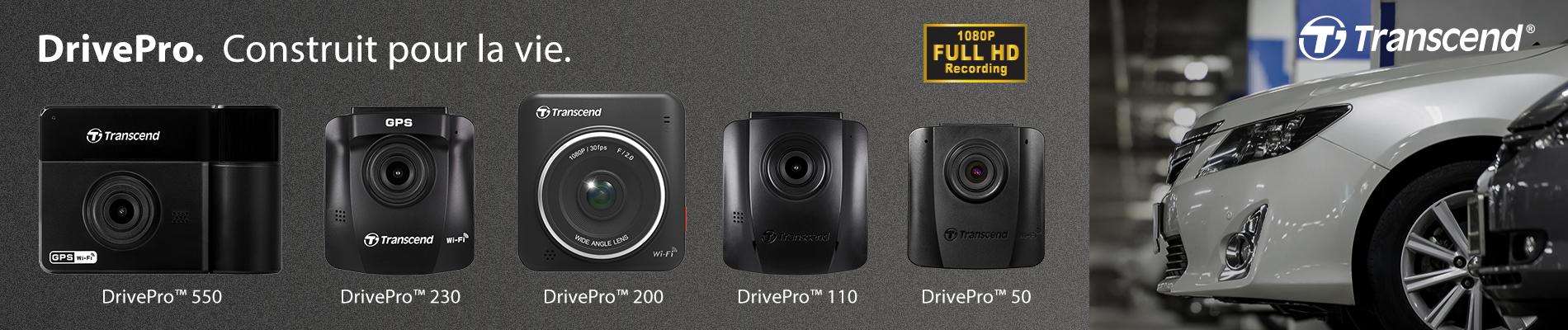 Drive Pro. Construit pour la vie.